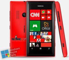 Nokia Lumia 505 unvealed with Windows Phone 7.8.