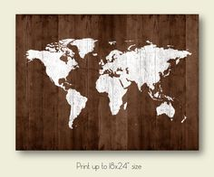 map of the world map poster download map wood texture printable large size wall art decor digital print instant download 18x24 pdf jpg by SunnyRainFactory on Etsy https://www.etsy.com/listing/241468878/map-of-the-world-map-poster-download-map