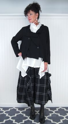 Hats and Haberdashery - Noriem/Ji U Sushi Blouse, $324.00 (http://www.handhcollection.com/shop-by-designer/noriem-ji-u/noriem-ji-u-sushi-blouse/)