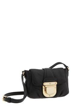 Michael Kors Crossbody Bag in black and  gold