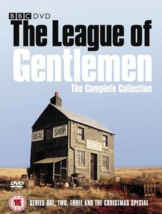 Buy League Of Gentlemen Complete Collection Box Set DVD Box Set on DVD at Mighty Ape NZ. All three series and the Christmas Special of the dark BBC cult comedy. The town of Royston Vasey is populated by many strange and eccentric individua. British Tv Comedies, British Comedy, English Comedy, Royston Vasey, Steve Pemberton, League Of Gentlemen, Louise Brealey, Comedy Tv, Great Tv Shows