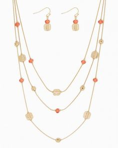 Lola Layered Necklace Set   Fashion Jewelry - Necklaces   Charming Charlie