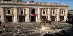 The #CapitolineMuseums in #Rome, Italy.
