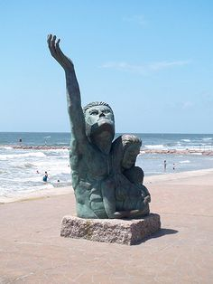 Galveston Texas 1900 Storm Memorial I was a little afraid of it at first