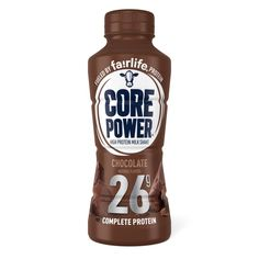 10 Best Protein Shakes to Buy in According to Experts Core Power Protein Shake, Healthy Protein Shakes, Chocolate Protein Shakes, Chocolate Nutrition, Chocolate Shake, High Protein, Protein Milkshake, Grab And Go Breakfast, Breakfast Ideas