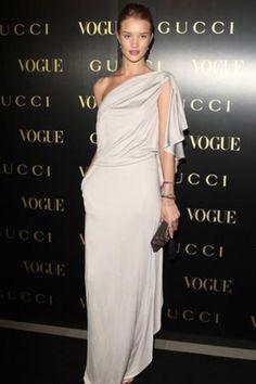 Silver satin silky elegant draped dress
