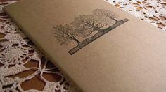 Tree Lined Moleskine Journal