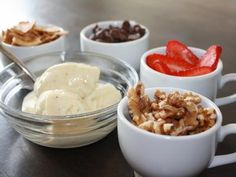 Mmmm, this is the summer solution for overripe bananas: frozen custard made from a whipped banana!