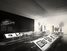 black white and shadows. Tim Burton - projet