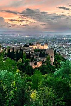 The Alhambra, Granada, Spain Alhambra Spain, Andalusia Spain, Barcelona, Places Around The World, Around The Worlds, Voyage Europe, Le Palais, Islamic Architecture, Spain And Portugal