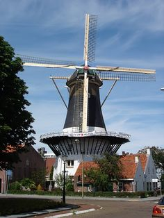 our local windmill in Wassenaar, Nederland