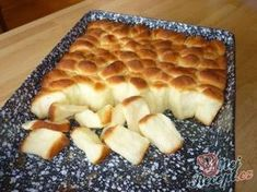Dukatenbuchteln - a super dough Slovak Recipes, Czech Recipes, Czech Desserts, Most Popular Desserts, Best Pancake Recipe, Baking Recipes, Dessert Recipes, Good Food, Yummy Food