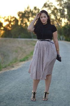 Find the skirt for your curves at https://www.ktique.com/collections/skirts-midi