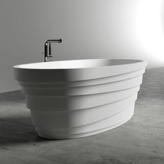 Lusso Stone Polini Stone Resin Solid Surface Freestanding Bath 1600