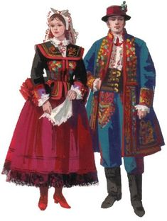 Ethnic Outfits, Ethnic Clothes, Poland Costume, Ukraine, Folk Costume, Costumes, Polish Folk Art, European Dress, Christian Artwork