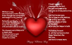 valentines card messages husband