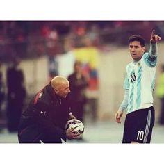 Futbol de Locura: Esto dijo Jorge Sampaoli sobre Messi