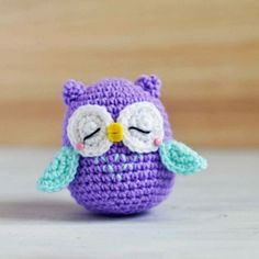 Crochet For Children: Owl Amigurumi - Free Pattern