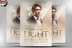 See The Light Flyer Template @creativework247
