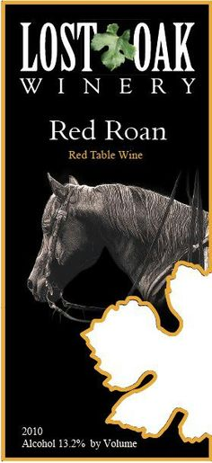 Another selection from s local TX Vineyard, a mix of merlot and tempranillo, smoky up front with hints of cherries on the back.  - Red Roan from Lost Oak