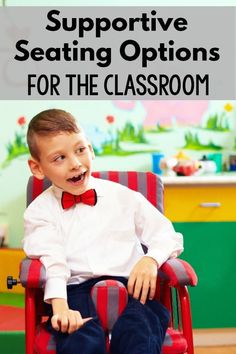 A great resources for ideas and supportive seating suggestions. Great for special education, physical therapists, occupational therapists and beyond. Life Skills Classroom, Special Education Classroom, Autism Classroom, Elementary Education, Gross Motor Activities, Sensory Activities, Sensory Motor, Pediatric Physical Therapy, Occupational Therapy