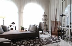 Maison de Luxe Part 2: Rooms by Nathan Turner, Philip Gorrivan, Kathryn Ireland and More on http://www.sohautestyle.com