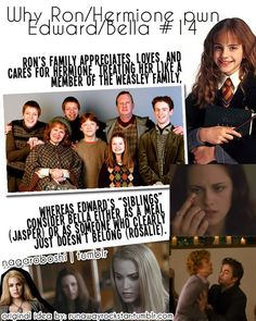 This is why I love harry potter!  A family that seems like it can barely support itself accepts another person into their family as soon as they meet them.