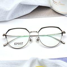 4536e4203d Último modelo de titanio marcos ópticos venta al por mayor gafas de Marco  en stock https