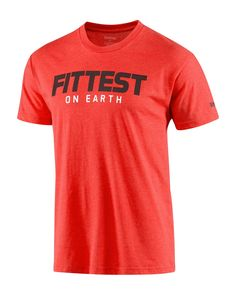 CrossFit HQ Store- 2013 Fittest on Earth Tee - Graphic Tees - Men Buy Authentic CrossFit T-Shirts, CrossFit Gear, Accessories and Clothing