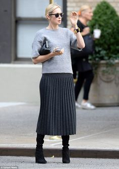 Solo outing: Kelly Rutherford was spotted hailing a cab in New York City on Wednesday