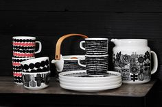 marimekko 2015 Knick Knack, Marimekko, Porcelain Ceramics, Lovely Things, Product Design, Coffee Shop, Sweet Home, Mugs, Nice