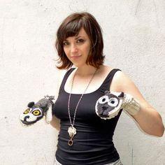 Meet Hooplah Hannah--Conspicuous Flibbertigibbet Force Behind Predator vs. Prey Mittens