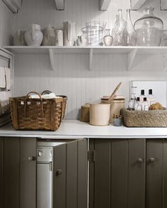 5 Quick Fixes: Clever Camouflage for the Washer/Dryer - By Remodelista