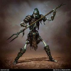 Q'antaari Undead Seth Soldier
