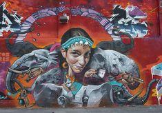 street art....Miguel Angel Belinchón arte Callejero desde - Spain