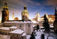 Salzburg's churches, steeples, and spires. By Bob Krist. #Austria #NationalGeographic