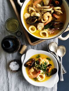 Catalan Seafood Stew in Barcelona