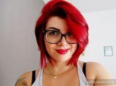 Short red hair / cabelos curtos / hairstyle