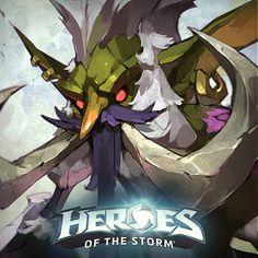 ArtStation - Heroes of the Storm Portraits, Tan Zhi Hui Heroes Of The Storm, Freelance Illustrator, Art Studies, World Of Warcraft, Art Boards, Cartoon Characters, Game Art, Concept Art, Character Design