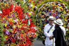 Fiesta de colores en Medellín.