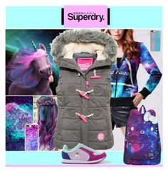 """""""The Cover Up – Jackets by Superdry: Contest Entry"""" by yours-styling-best-friend ❤ liked on Polyvore featuring Superdry, Casetify, WithChic and SANRIO"""
