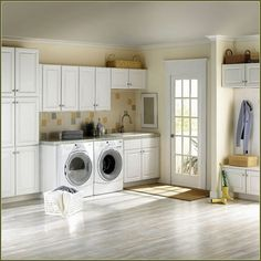 Browse laundry room ideas and decor inspiration. Discover designs for custom laundry rooms and closets, including utility room organization and storage solutions. Ikea Laundry Room, Modern Laundry Rooms, Laundry Room Organization, Laundry Room Design, Small Shelves, Small Storage, Storage Spaces, Storage Ideas, Room Shelves