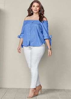 Stylish Plus-Size Fashion Ideas – Designer Fashion Tips Big Girl Fashion, Curvy Fashion, Look Fashion, Fashion Outfits, Womens Fashion, Fashion Black, Ladies Fashion, Fall Fashion, Xl Mode