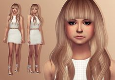 Trillyke: Sally Sadface • Sims 4 Downloads