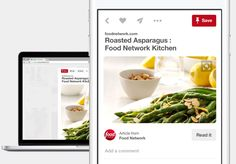 On Tuesday, Pinterest, whose online service is best known as a way to collect images of food and home decor, said it has acquired Instapaper's team and technology.