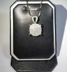 Liontin emas berlian Mode Bulat. Hrg cuci gudang. Toko Perhiasan Emas Berlian-MJ,Jakarta +628118455779/DC9E309C Cp.Tri. #emas#berlian#investasi#fashion