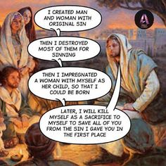 The Confusing logic of Christianity