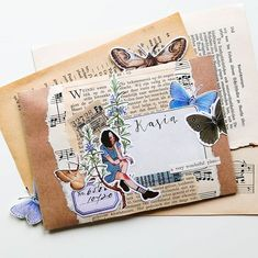 Aesthetic Letters, Mail Art Envelopes, Snail Mail Pen Pals, Teen Birthday, Birthday Gifts, Mail Gifts, Pen Pal Letters, Duck Tape Crafts, Bullet Journal Notebook