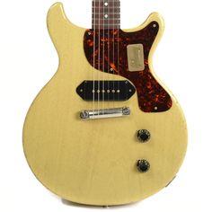 Gibson Custom Shop 1958 Les Paul Jr Model Reissue Lightly Aged PSL TV Yellow NH (Serial #87515)