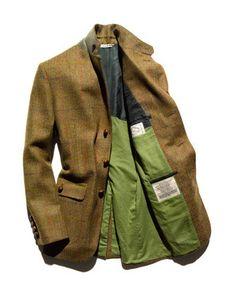 Freeman's Sporting Club tweed sportcoat